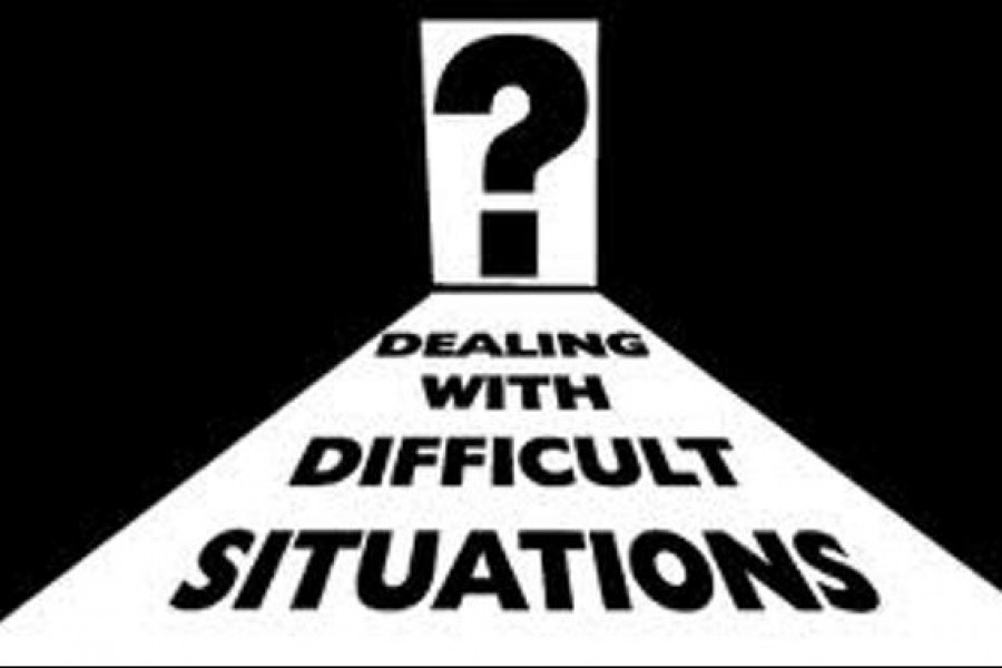 How to tackle difficult situations?