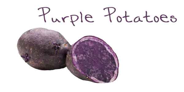 Ever heard of Purple Potatoes ?