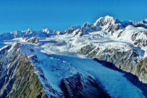 New Zealands tourist glaciers shrinking