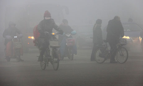Severe Pollution in China