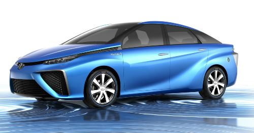 Toyota to introduce Hydrogen powered electric cars in US