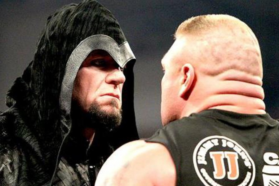 Undetaker vs Brock Lesnar