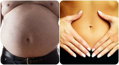 Simple ways to get a flatter belly !