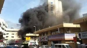 Restaurant catches fire in busy Bur Dubai area