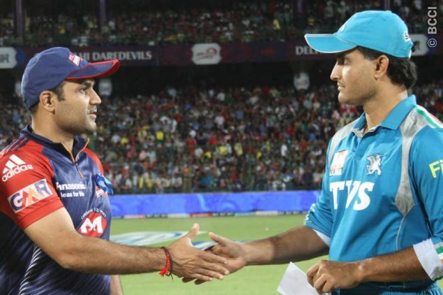 Sehwag is the best to lead Kings XI:Ganguly