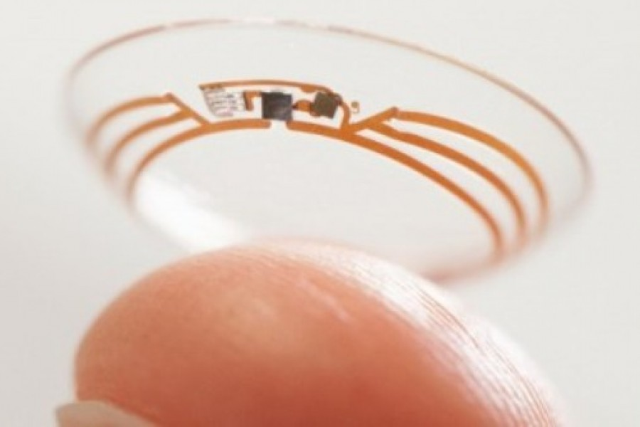 Googles smart contact lenses for diabetics