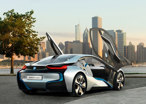 BMW powers up with hybrid sportscar