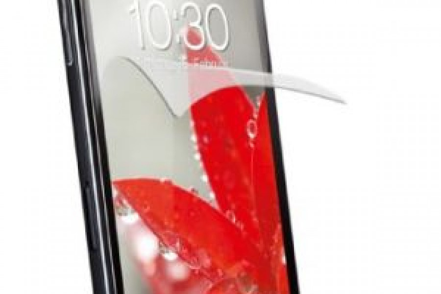 The new LG Smartphone screen protection