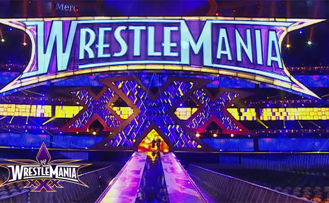 Wrestlemania XXX Set Revealed