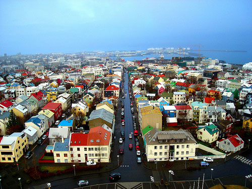 Astonishing capital of Iceland
