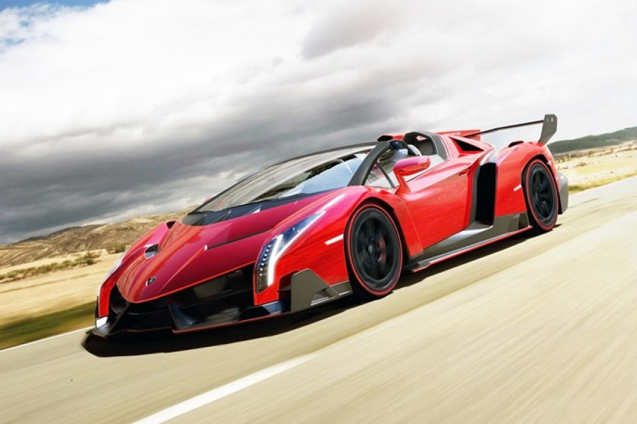 Worlds most expensive Car: Lamborghini Veneno Roadster