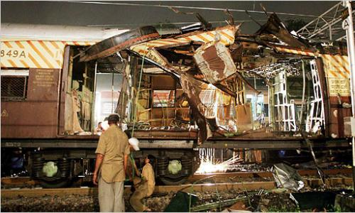 Train explosion in Chennai