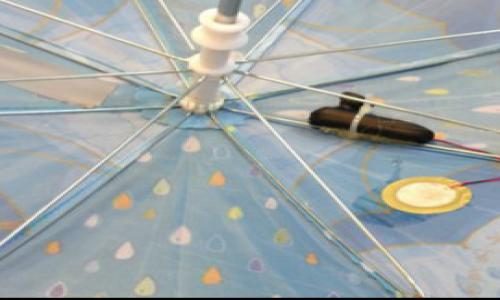 New Smart Umbrellas to collect data on rainfall