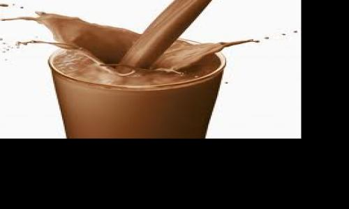 Better swimming performance after a chocolate milk