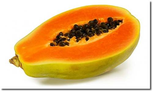 A papaya can be beneficial for you skin