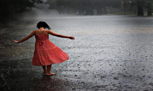 Does rain spoils your beauty?