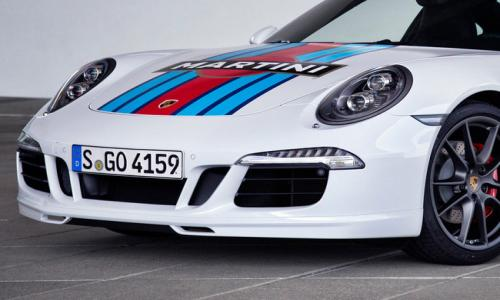 Porsche 911 S Martini Racing Edition unveiled