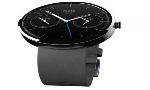 Motorola put her watch smart circular Moto 360