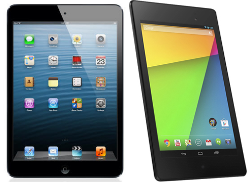 what do you chose? IPAD mini Vs NEXUS7