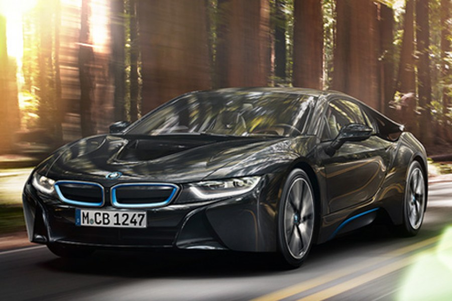 "New BMW I8 is known as ""BMW Concept Vision Efficient Dynamics"