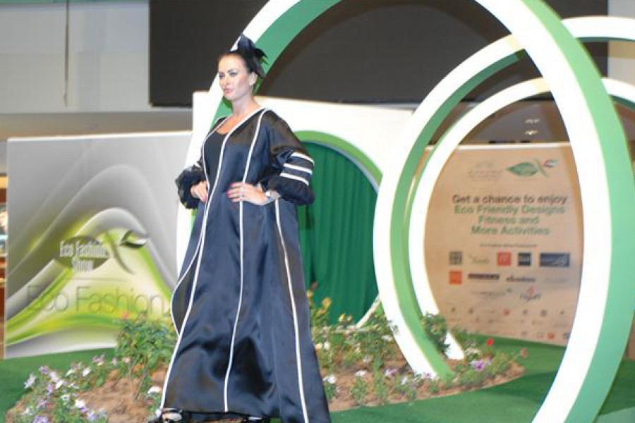 Eco-Friendly Fashion Show in Abu Dhabi,U.A.E