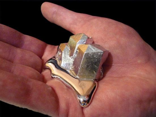 Gallium- A rare metal with interesting properties